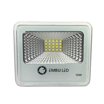Refletor Holofote LED SMD 10W Branco Frio Prova D'água IP66