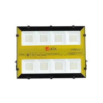 Refletor Holofote LED SMD 200W Bumblebee Branco Quente Prova D'Água