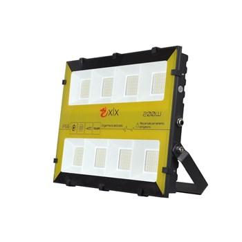 Refletor Holofote LED SMD 200W Bumblebee RGB Colorido c/ Controle Remoto Prova D'Água