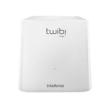 Roteador Intelbras Twibi Wifi Mesh Giga 2,4 A 5 Ghz 180m2