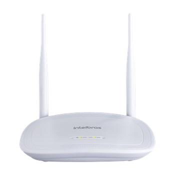 Roteador Wireless Intelbras Iwr 3000N 2 Antenas 300 Mbps com Ipv6