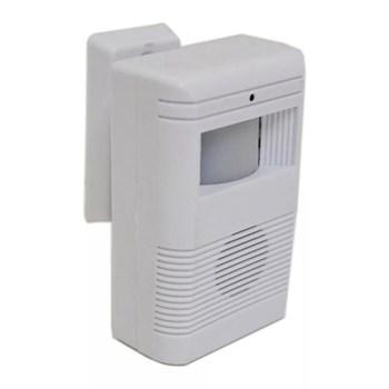 Sensor de Presença Campainha Anunciador Sem Fio Luatek Lkm 3000