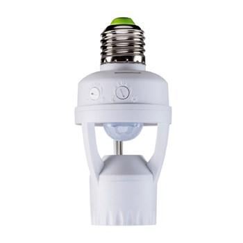 Sensor de Presença Fotocélula Para Iluminação Intelbras Esp 360S E27