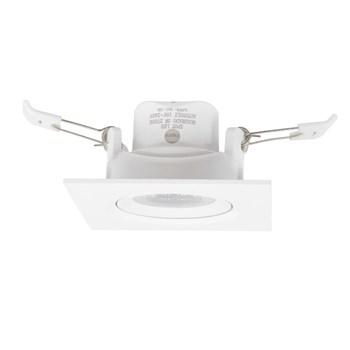 Spot LED Embutir 3W Direcionavel Quadrado Branco Quente