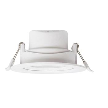 Spot LED Embutir 5W Direcionavel Redondo Branco Quente