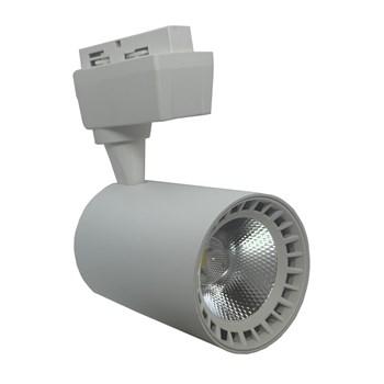 Spot LED Para Trilho 10W Branco Frio Bivolt Branco Andeli
