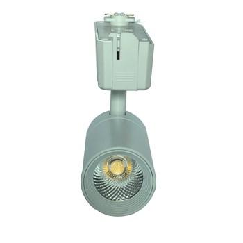Spot LED Para Trilho 10W Branco Quente Bivolt Branco Initial