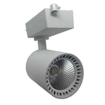 Spot LED Para Trilho 18W Branco Frio Bivolt Branco Andeli