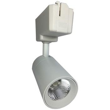 Spot LED Para Trilho 20W Branco Frio Bivolt Branco Initial