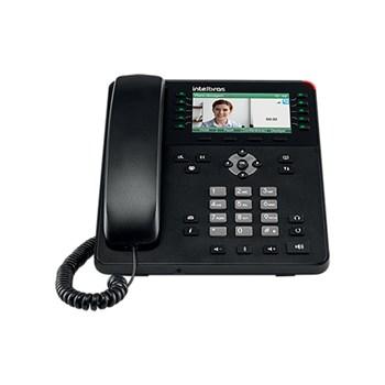 Telefone IP Intelbras TIP 635G Vídeo Chamada Gravação de Áudio USB