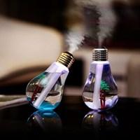 Umidificador e Aromatizador de Ar Lâmpada LED USB
