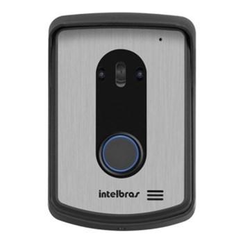 Vídeo Porteiro Colorido Intelbras Iv 7010 Hs com Monofone  Lcd 7'' Abertura de Fechadura Remota Via Cel Branco