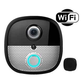 Vídeo Porteiro Eletrônico Wi-Fi Visão Noturna Luatek LKM2002